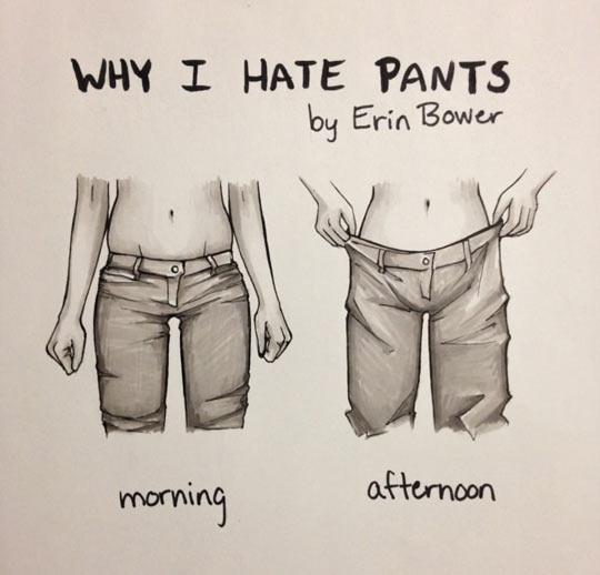 Girl Pants Suck