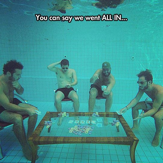 Playing Underwater