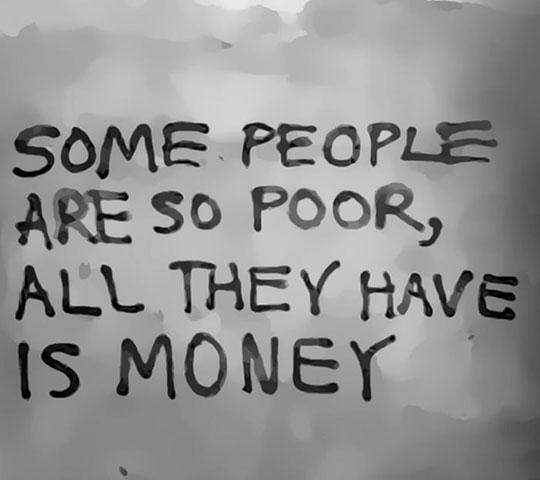 Poor People Nowadays