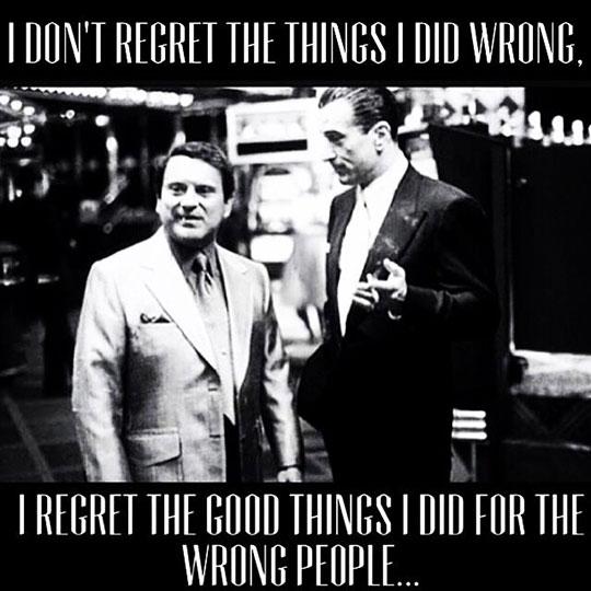 My Deep Regrets