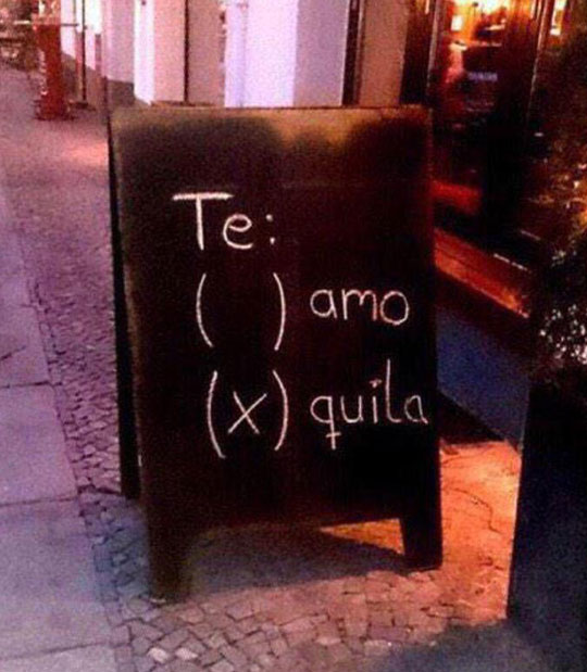 funny-restaurant-sign-tequila-options