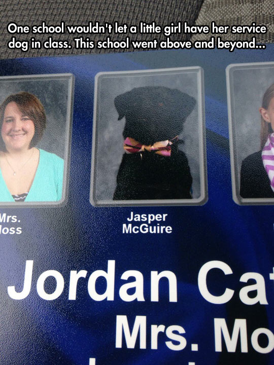 funny-service-dog-girl-yearbook