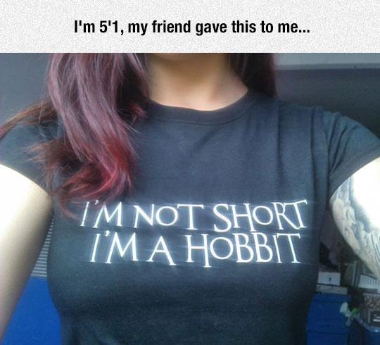 funny-shirt-girl-short-Hobbit