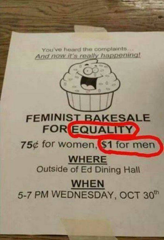 funny-sign-equality-bake-sale-price-different