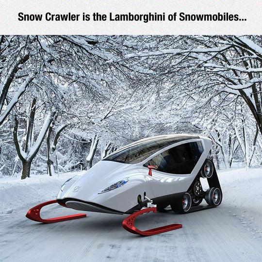 Epic Snowmobile Design