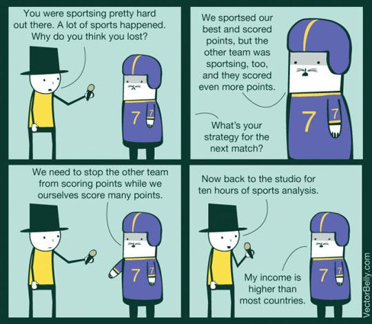Sportsing Pretty Hard
