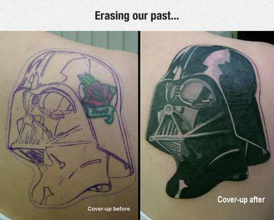 funny-tattoo-Darth-Vader-rose-cover-up