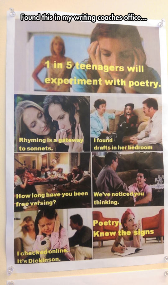 Do You Know If Your Kids Are Experimenting With Poetry?