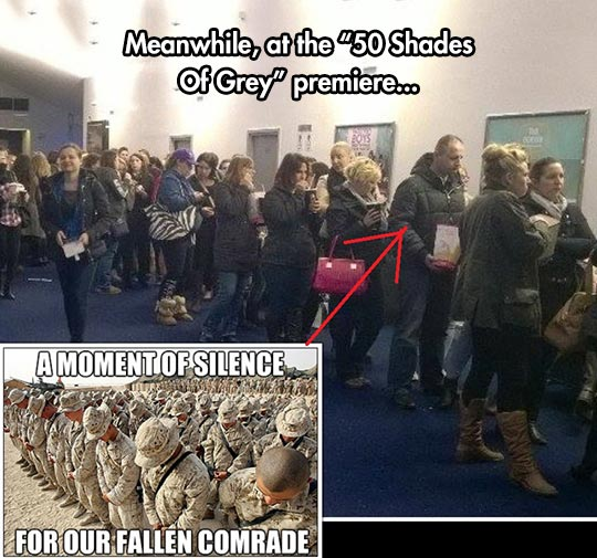 Fallen Comrade At The Theater