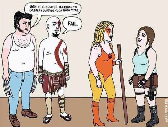 funny-webcomic-fat-cosplay-criticism