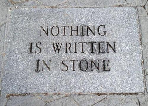 ironic-written-stone