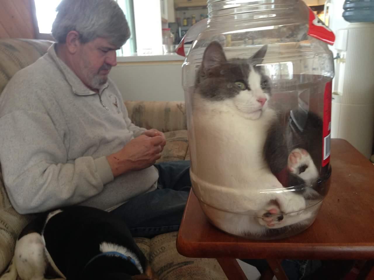 Angie loves her jar