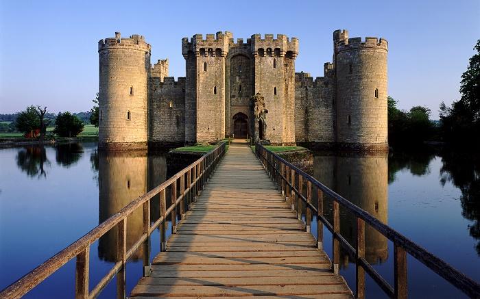 Bodiam Castle East Sussex.