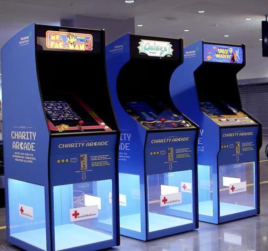 Charity Arcade, Genius Idea