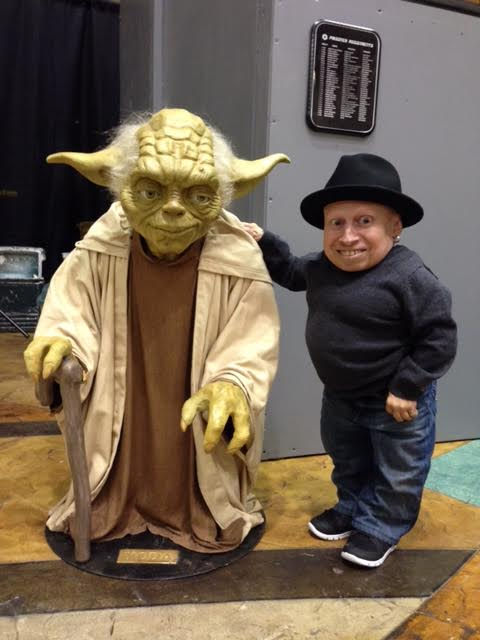Even Yoda is taller than me