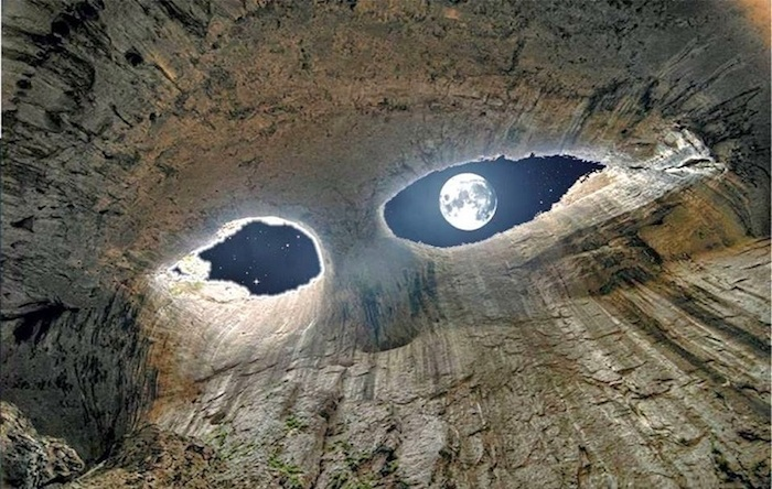 Eyes of God - Prohodna cave in Bulgaria