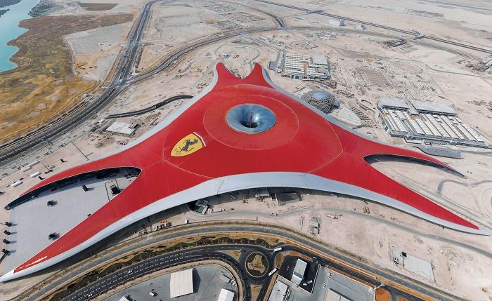 Ferrari headquarters in Dubai