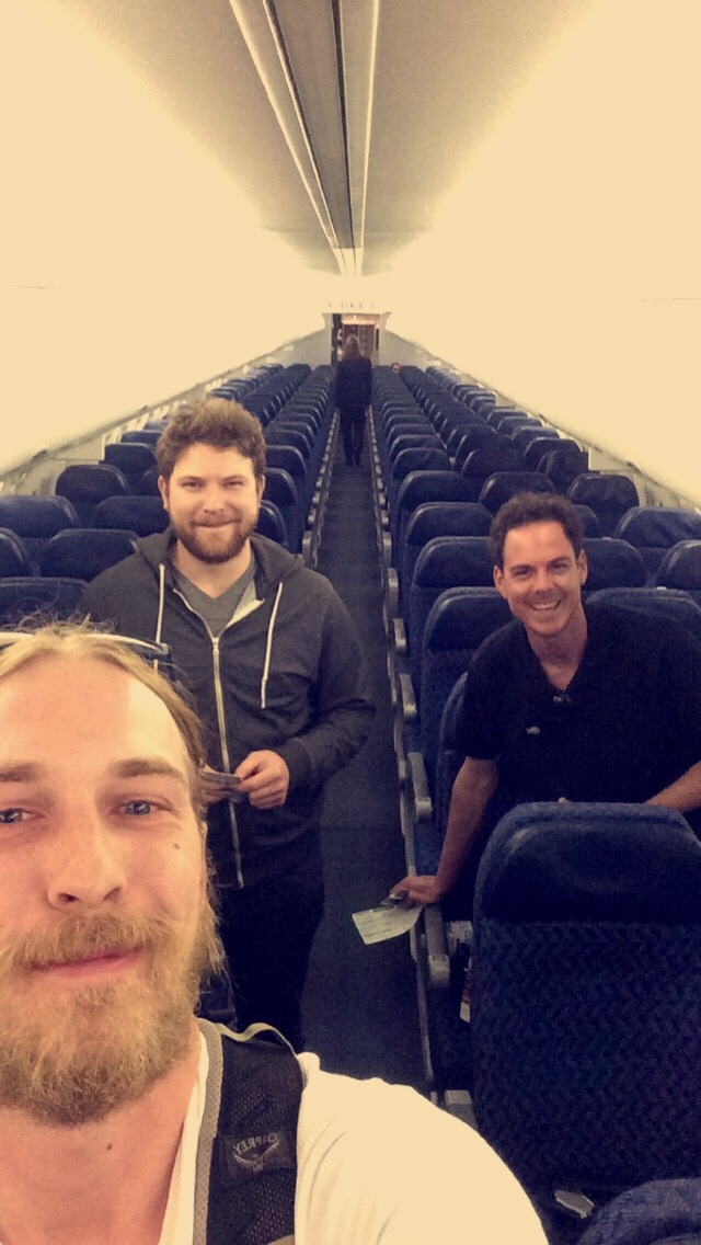 Had a flight from Phoenix to Chicago last night, we were the only three people on a 737.