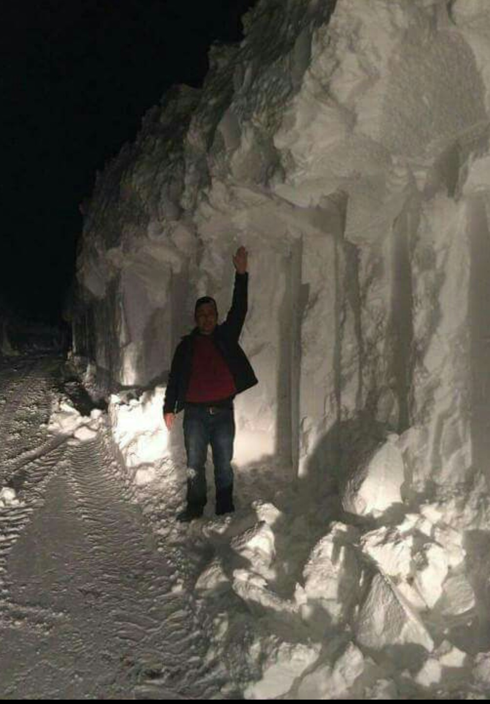 Here in PEI on the east coast of Canada, we've got 16 feet of snow in the past two months.