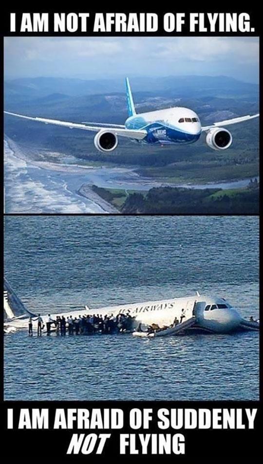 Not Afraid Of Flying