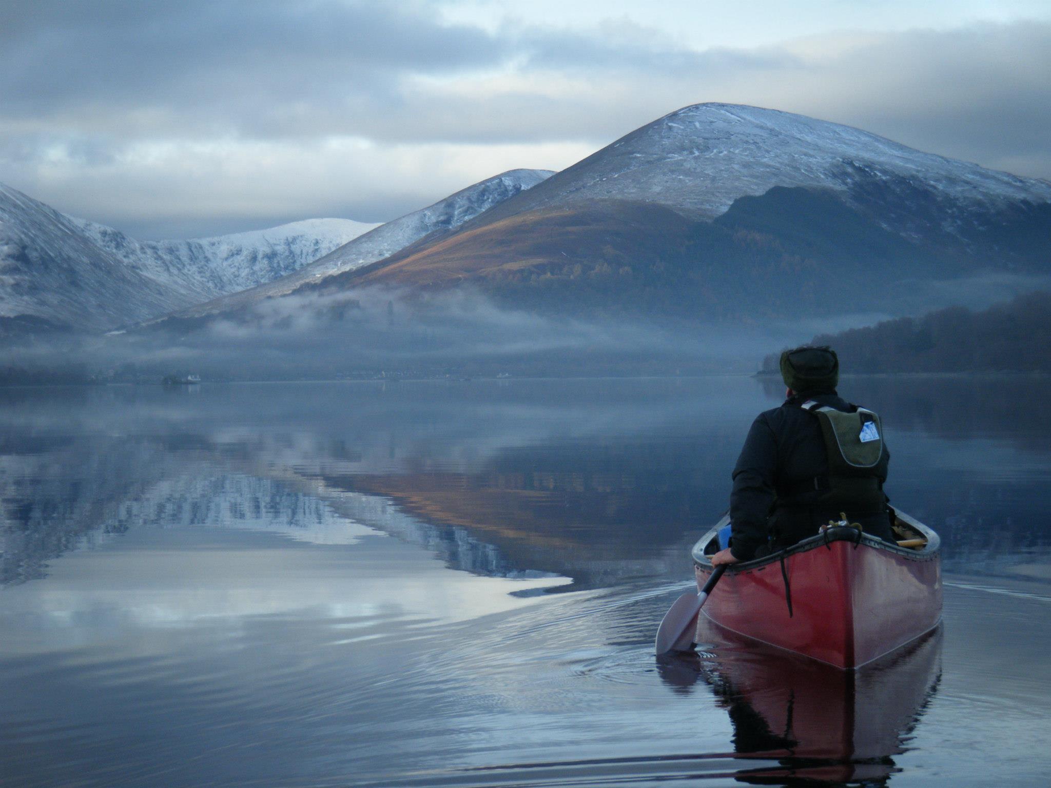 Scotland by canoe - so peaceful!