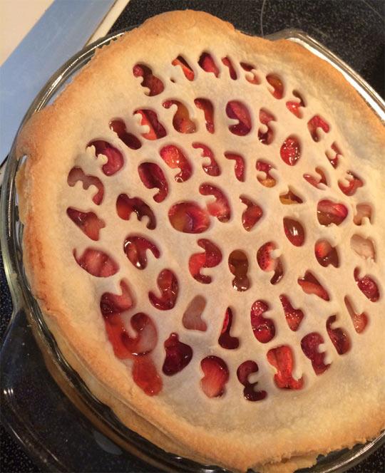 Strawberry Peach Pi(e)