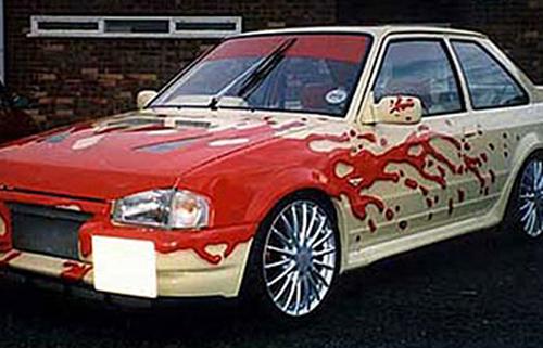 car-art-blood