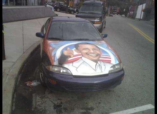 car-art-obama