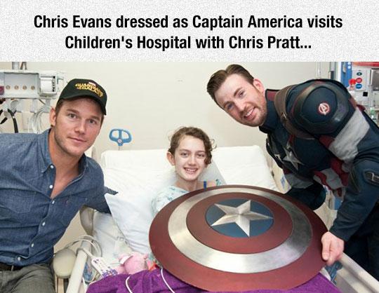 cool-Captain-America-Chris-Pratt-Evans-hospital