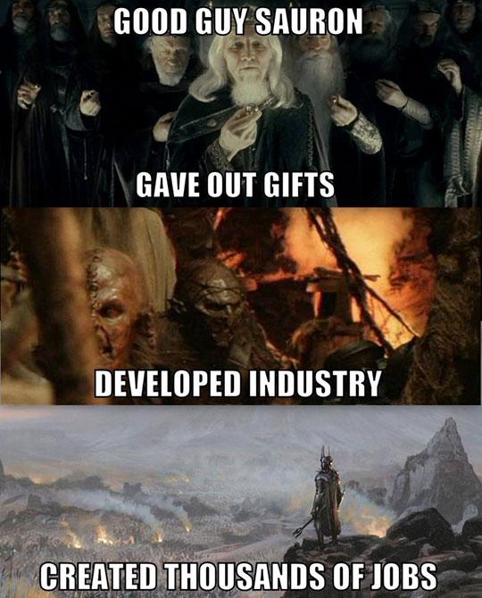Sauron Was Misunderstood
