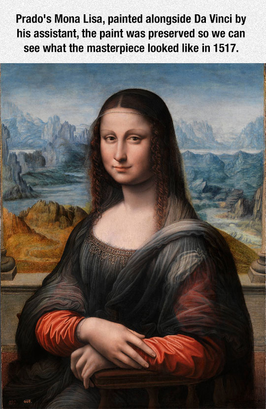 The Other Version Of Mona Lisa