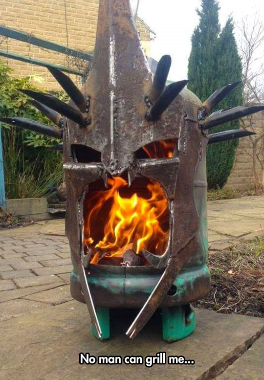 The Grill For LotR Fans