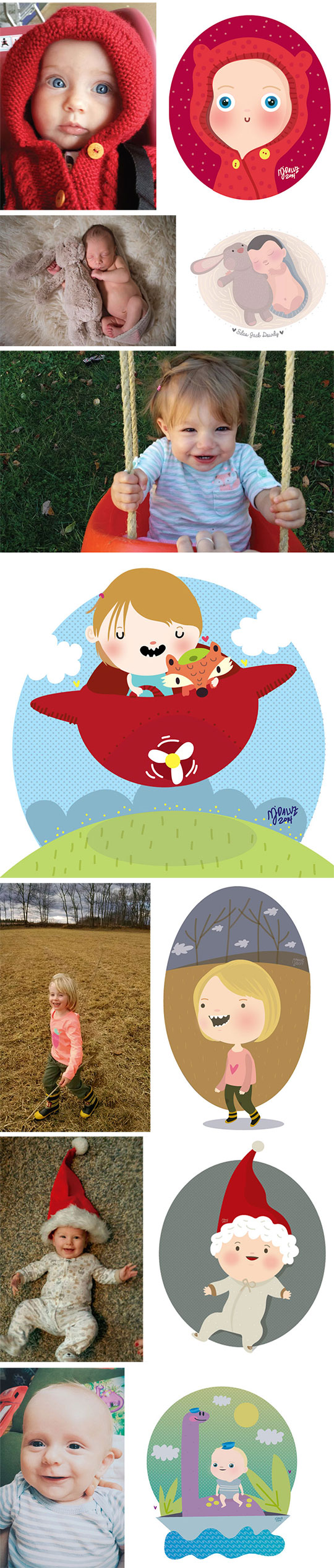 cool-baby-pictures-turned-cartoons