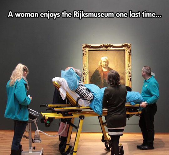 Enjoying The Museum One Last Time