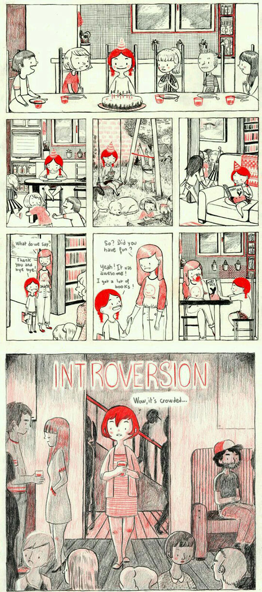 Introverts Unite... But Separately