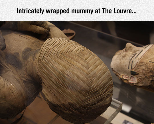 The Egyptians Were Masters Of Pleating