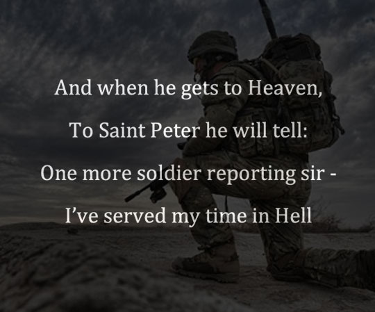 The Poem In The Opening Scene Of Medal Of Honor