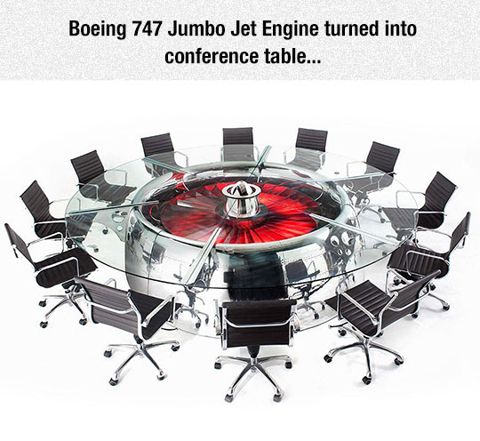 Badass Conference Table