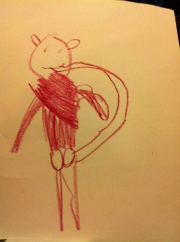 creepy-kids-drawings-animal-tail-funny
