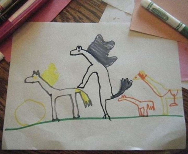 creepy-kids-drawings-humping-horses