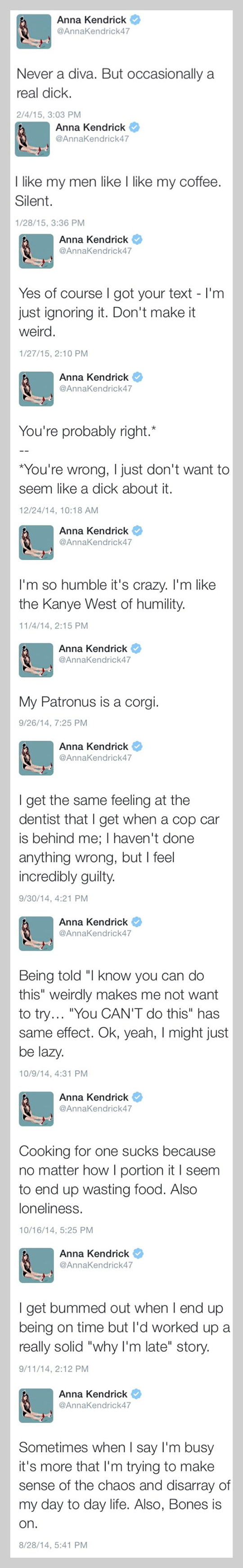 Anna Kendrick Is My Spirit Animal