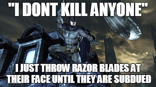 Batman And His Logic