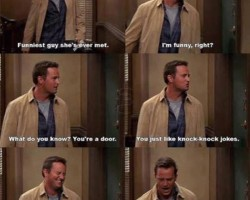 Chandler Was The Best