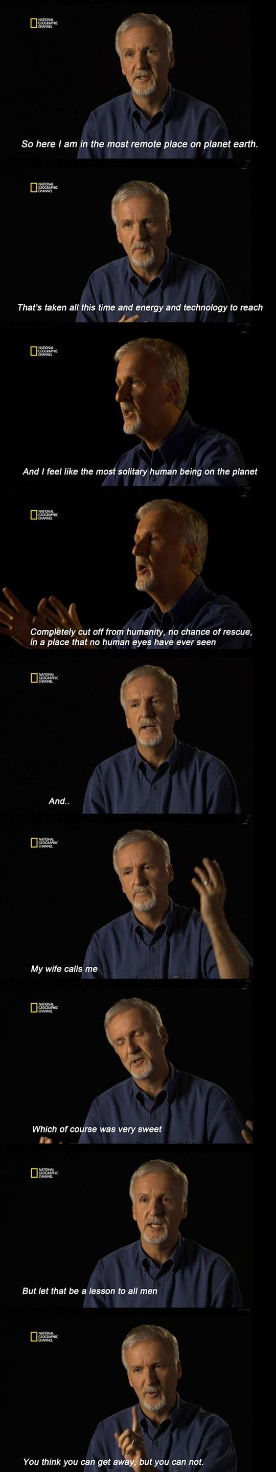 James Cameron Is Hilarious