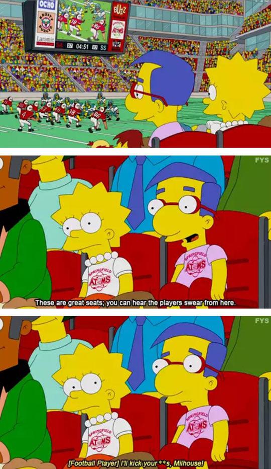 Poor Milhouse