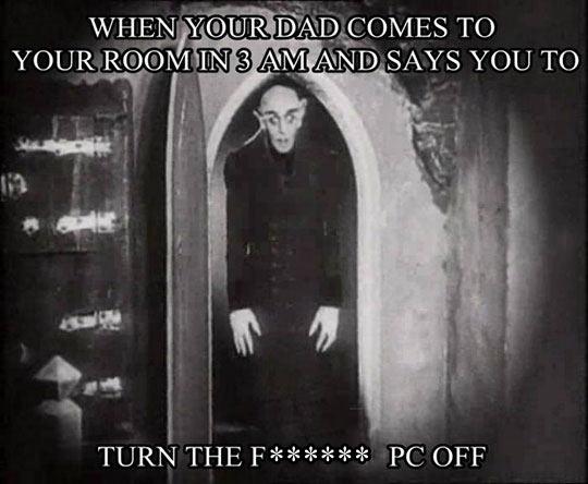 That Nosferatu Face
