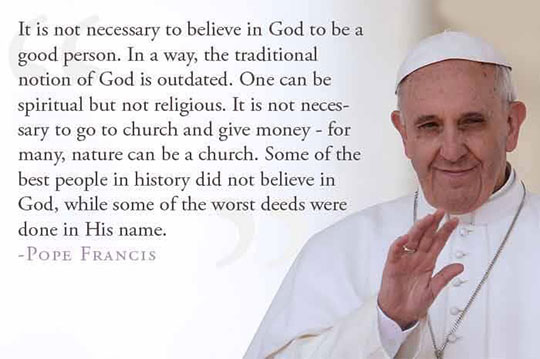 funny-Pope-Francis-quote-good-person