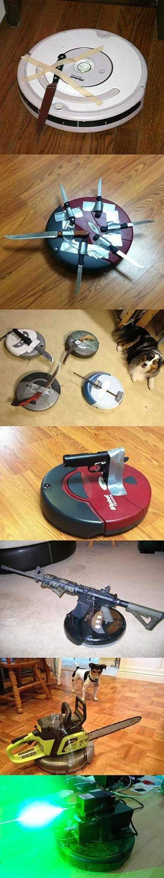 Tactical Roomba Mods