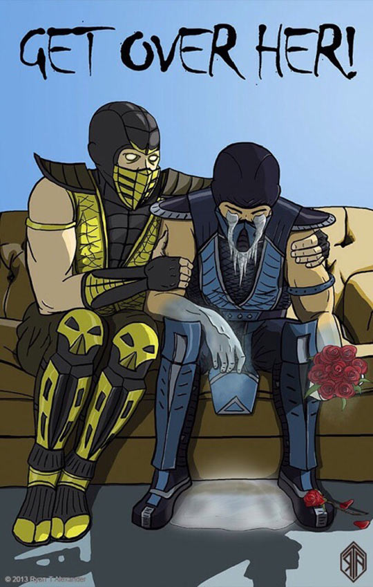 Scorpion Is A Very Supporting Friend