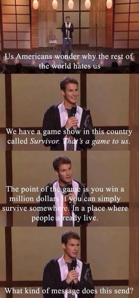 Daniel Tosh On Why The World Hates America